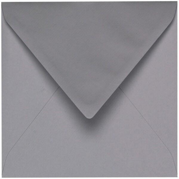 Artoz 1001 - 'Graphite' Envelope. 135mm x 135mm 100gsm Small Square Gummed Envelope.