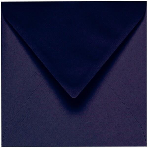 Artoz 1001 - 'Jet Black' Envelope. 135mm x 135mm 100gsm Small Square Gummed Envelope.