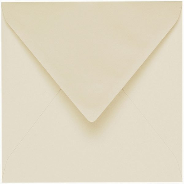 Artoz 1001 - 'Chamois' Envelope. 135mm x 135mm 100gsm Small Square Gummed Envelope.