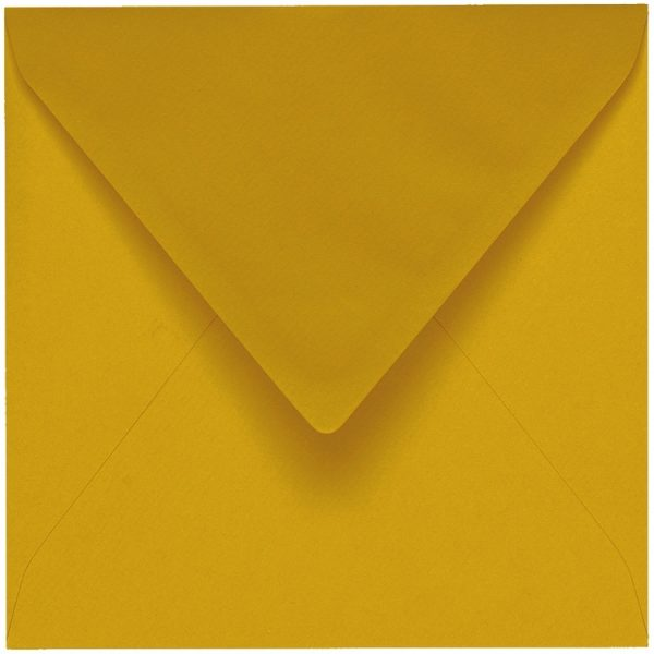 Artoz 1001 - 'Kiwi' Envelope. 135mm x 135mm 100gsm Small Square Gummed Envelope.