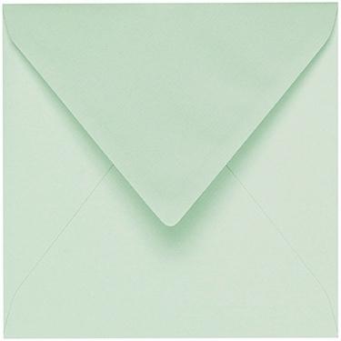Artoz 1001 - 'Pale Mint' Envelope. 135mm x 135mm 100gsm Small Square Gummed Envelope.