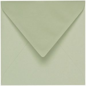 Artoz 1001 - 'Limetree' Envelope. 135mm x 135mm 100gsm Small Square Gummed Envelope.