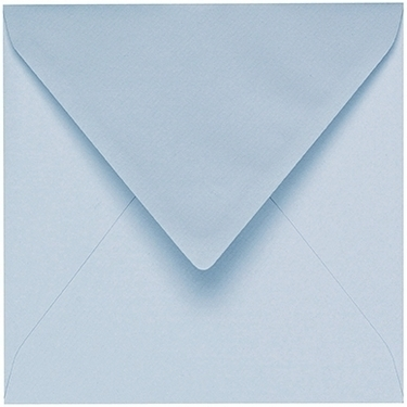 Artoz 1001 - 'Aqua' Envelope. 135mm x 135mm 100gsm Small Square Gummed Envelope.
