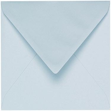 Artoz 1001 - 'Sky Blue' Envelope. 135mm x 135mm 100gsm Small Square Gummed Envelope.