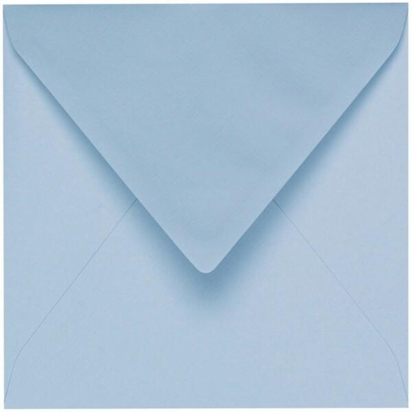 Artoz 1001 - 'Pastel Blue' Envelope. 135mm x 135mm 100gsm Small Square Gummed Envelope.