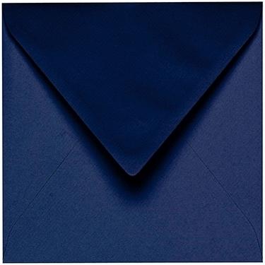 Artoz 1001 - 'Classic Blue' Envelope. 135mm x 135mm 100gsm Small Square Gummed Envelope.