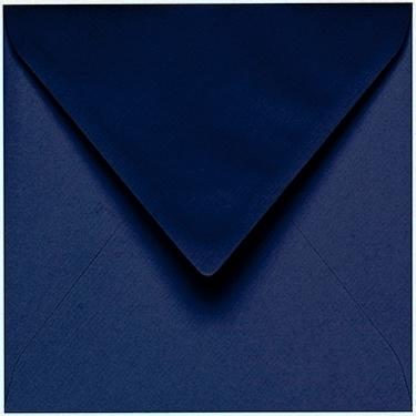 Artoz 1001 - 'Navy Blue' Envelope. 135mm x 135mm 100gsm Small Square Gummed Envelope.