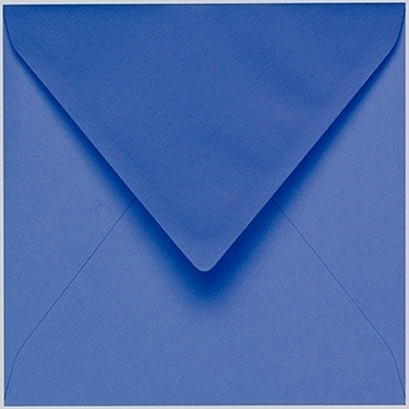 Artoz 1001 - 'Royal Blue' Envelope. 135mm x 135mm 100gsm Small Square Gummed Envelope.