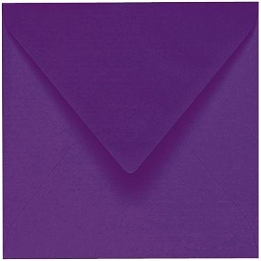 Artoz 1001 - 'Violet' Envelope. 135mm x 135mm 100gsm Small Square Gummed Envelope.