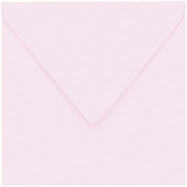Artoz 1001 - 'Delicate Pink' Envelope. 135mm x 135mm 100gsm Small Square Gummed Envelope.