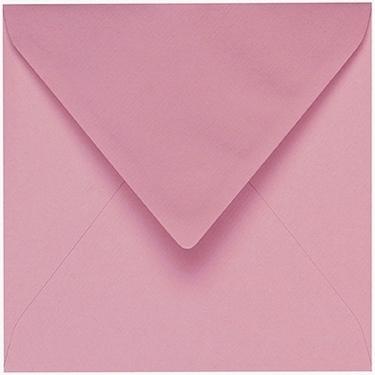Artoz 1001 - 'Coral' Envelope. 135mm x 135mm 100gsm Small Square Gummed Envelope.