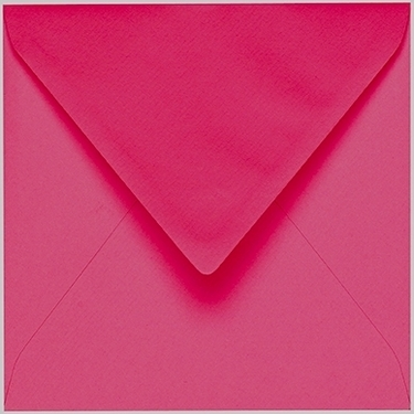 Artoz 1001 - 'Fuchsia' Envelope. 135mm x 135mm 100gsm Small Square Gummed Envelope.