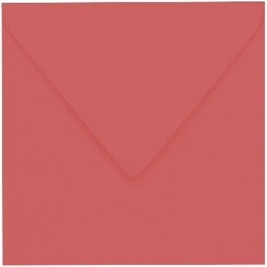 Artoz 1001 - 'Watermelon' Envelope. 135mm x 135mm 100gsm Small Square Gummed Envelope.