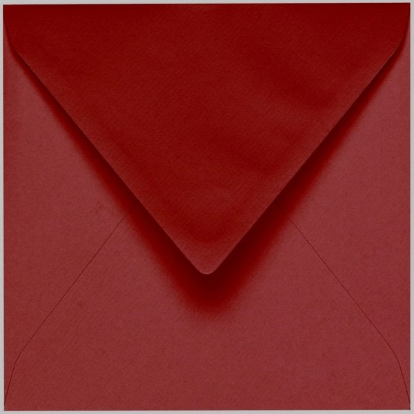 Artoz 1001 - 'Bordeaux' Envelope. 135mm x 135mm 100gsm Small Square Gummed Envelope.