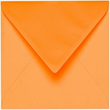 Artoz 1001 - 'Mango' Envelope. 135mm x 135mm 100gsm Small Square Gummed Envelope.