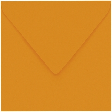 Artoz 1001 - 'Mandarin' Envelope. 135mm x 135mm 100gsm Small Square Gummed Envelope.