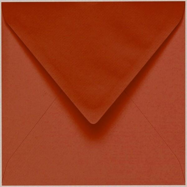 Artoz 1001 - 'Copper' Envelope. 135mm x 135mm 100gsm Small Square Gummed Envelope.