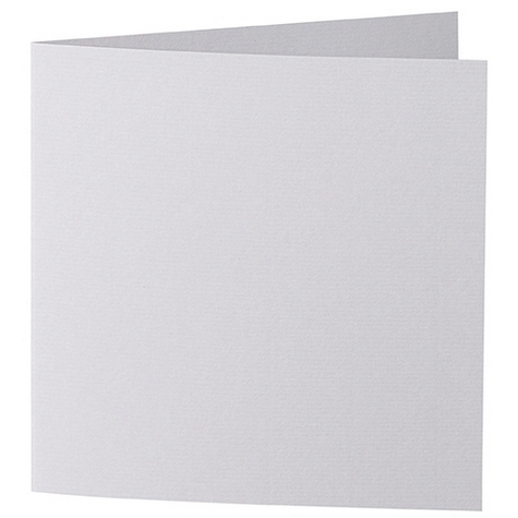 Artoz 1001 - 'Light Grey' Card. 310mm x 155mm 220gsm Square Folded Card.