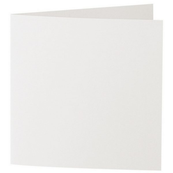 Artoz 1001 - 'Pale Ivory' Card. 310mm x 155mm 220gsm Square Folded Card.