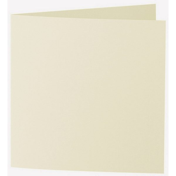 Artoz 1001 - 'Crema' Card. 310mm x 155mm 220gsm Square Folded Card.