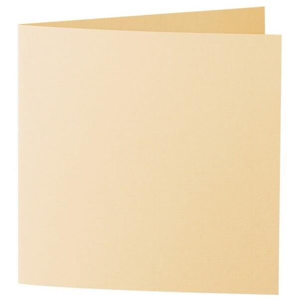 Artoz 1001 - 'Honey Yellow' Card. 310mm x 155mm 220gsm Square Folded Card.