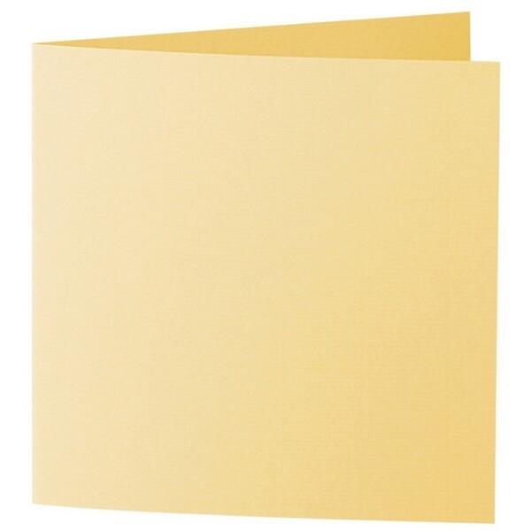 Artoz 1001 - 'Light Yellow' Card. 310mm x 155mm 220gsm Square Folded Card.