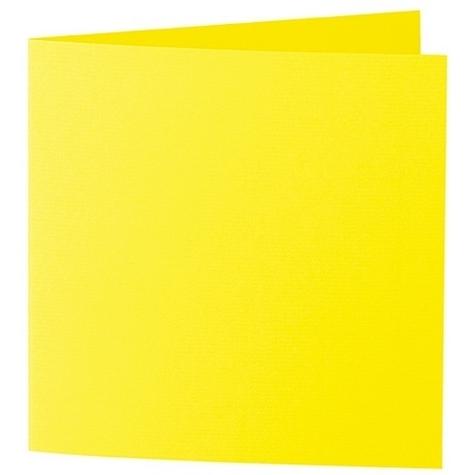 Artoz 1001 - 'Corn Yellow' Card. 310mm x 155mm 220gsm Square Folded Card.