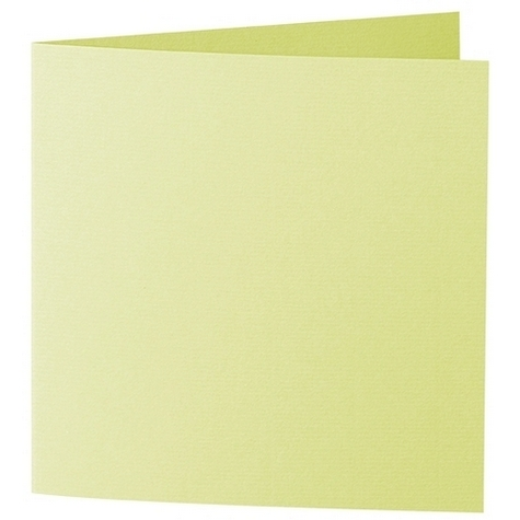 Artoz 1001 - 'Lime' Card. 310mm x 155mm 220gsm Square Folded Card.