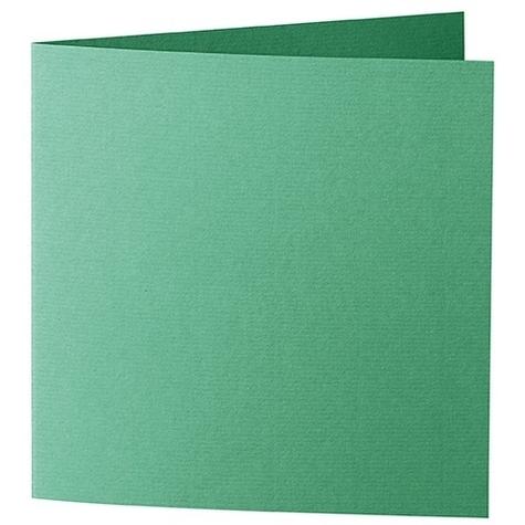 Artoz 1001 - 'Firtree Green' Card. 310mm x 155mm 220gsm Square Folded Card.