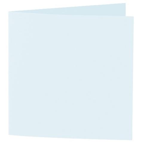 Artoz 1001 - 'Light Blue' Card. 310mm x 155mm 220gsm Square Folded Card.