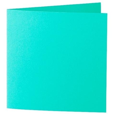 Artoz 1001 - 'Emerald Green' Card. 310mm x 155mm 220gsm Square Folded Card.