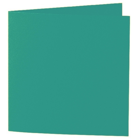 Artoz 1001 - 'Tropical Green' Card. 310mm x 155mm 220gsm Square Folded Card.