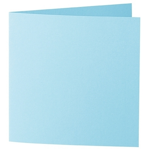 Artoz 1001 - 'Azure Blue' Card. 310mm x 155mm 220gsm Square Folded Card.