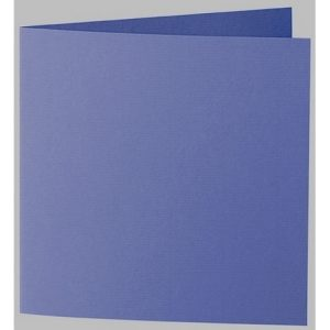 Artoz 1001 - 'Indigo' Card. 310mm x 155mm 220gsm Square Folded Card.