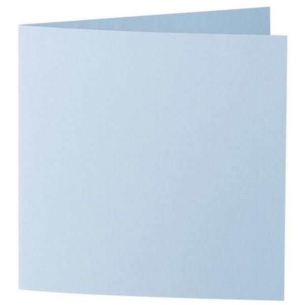 Artoz 1001 - 'Pastel Blue' Card. 310mm x 155mm 220gsm Square Folded Card.