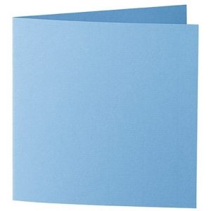 Artoz 1001 - 'Marine Blue' Card. 310mm x 155mm 220gsm Square Folded Card.