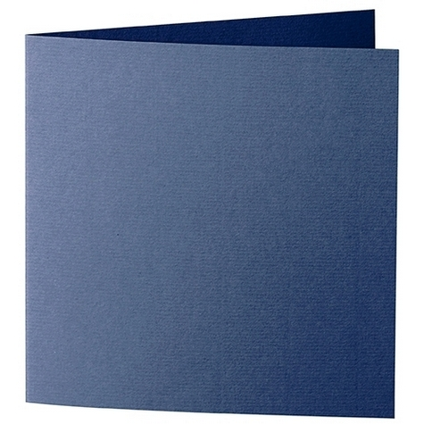 Artoz 1001 - 'Classic Blue' Card. 310mm x 155mm 220gsm Square Folded Card.