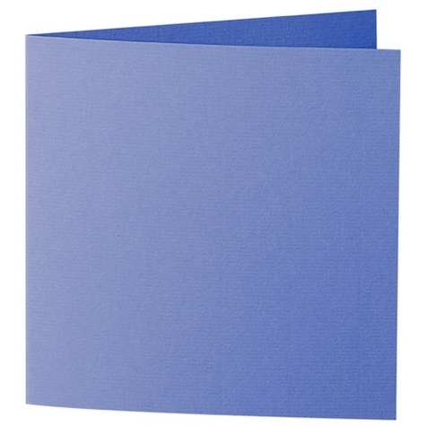 Artoz 1001 - 'Majestic Blue' Card. 310mm x 155mm 220gsm Square Folded Card.