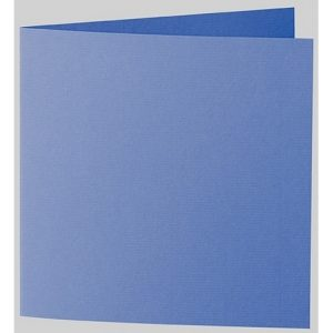 Artoz 1001 - 'Royal Blue' Card. 310mm x 155mm 220gsm Square Folded Card.