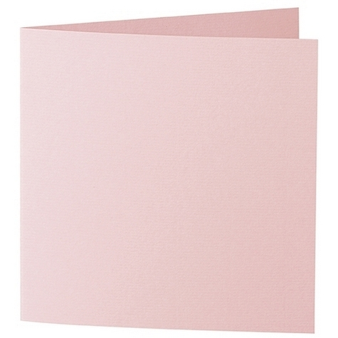 Artoz 1001 - 'Pink' Card. 310mm x 155mm 220gsm Square Folded Card.