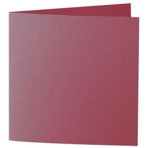 Artoz 1001 - 'Purple Red' Card. 310mm x 155mm 220gsm Square Folded Card.