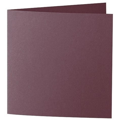 Artoz 1001 - 'Marsala' Card. 310mm x 155mm 220gsm Square Folded Card.