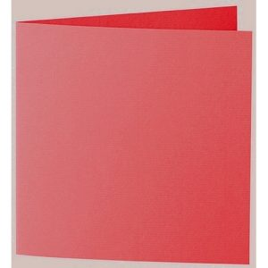 Artoz 1001 - 'Light Red' Card. 310mm x 155mm 220gsm Square Folded Card.