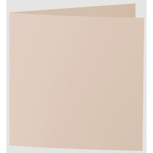 Artoz 1001 - 'Apricot' Card. 310mm x 155mm 220gsm Square Folded Card.