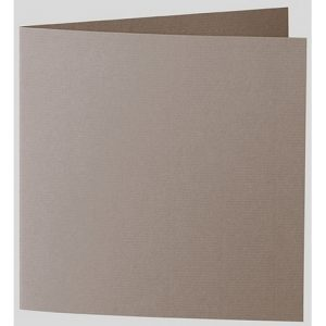 Artoz 1001 - 'Taupe' Card. 310mm x 155mm 220gsm Square Folded Card.