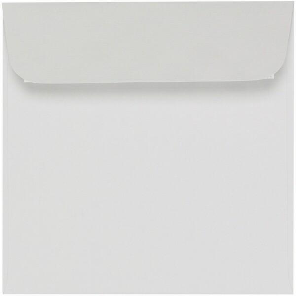 Artoz 1001 - 'Bianco White' Envelope. 160mm x 160mm 100gsm Square Peel/Seal Envelope.