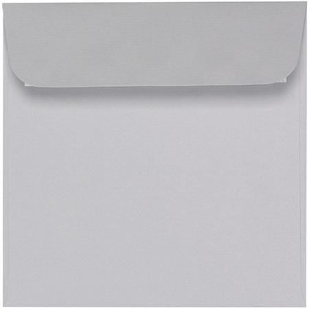 Artoz 1001 - 'Light Grey' Envelope. 160mm x 160mm 100gsm Square Peel/Seal Envelope.