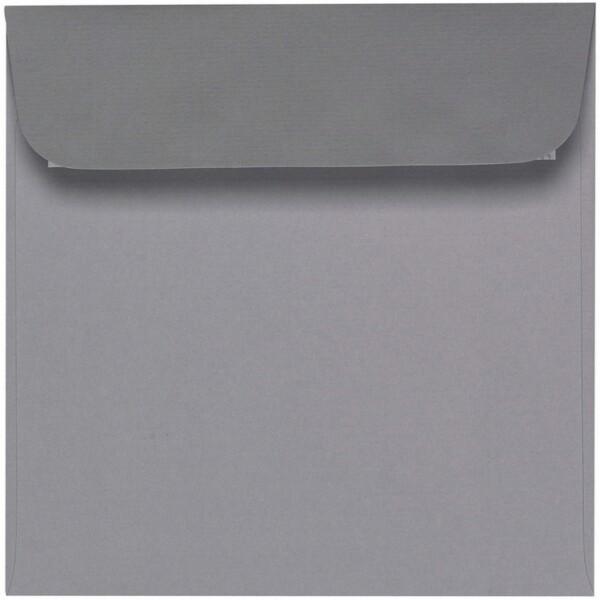 Artoz 1001 - 'Graphite' Envelope. 160mm x 160mm 100gsm Square Peel/Seal Envelope.