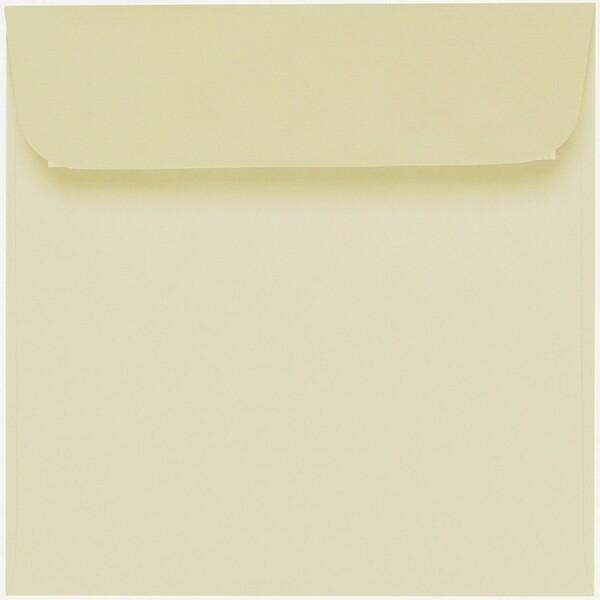 Artoz 1001 - 'Crema' Envelope. 160mm x 160mm 100gsm Square Peel/Seal Envelope.