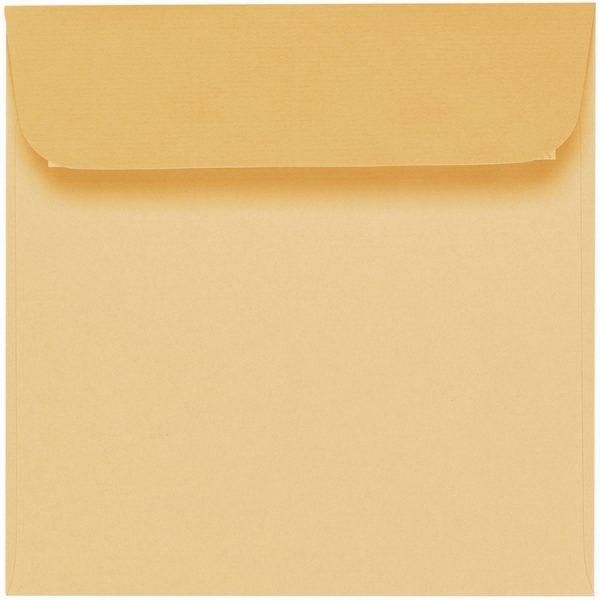 Artoz 1001 - 'Honey Yellow' Envelope. 160mm x 160mm 100gsm Square Peel/Seal Envelope.